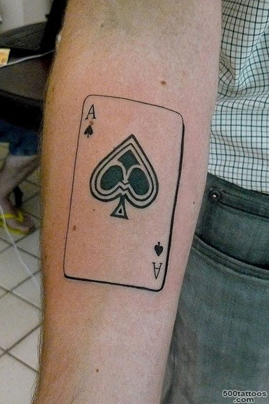 30 Cool Spade Tattoo Designs_9