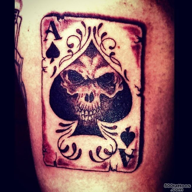 Ace of spade tattoo by Audrey Mello  Tatts  Pinterest  Spade ..._3
