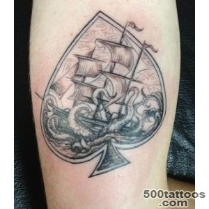 Ace of spades tattoo designs, ideas, meanings, images