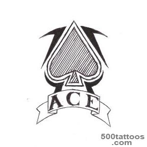 DeviantArt More Like ace of spades tattoo design by fulhamghost_47