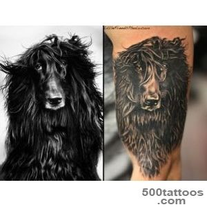 Little Friends Photo Afghan Hound Tattoo by Gary Pirisi at Windy _11