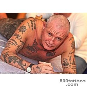Shaun Clark tattoo Former soldier has names of those killed in _10