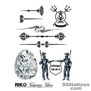 Ancient tattoos design, idea, image
