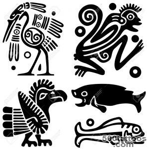 Ancient American Tattoos Royalty Free Cliparts, Vectors, And Stock _4