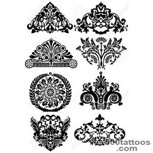 Ancient Tattoos And Ornaments Royalty Free Cliparts, Vectors, And _10