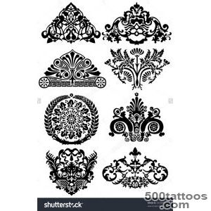 Ancient Tattoos And Ornaments Stock Vector Illustration 39209407 _17