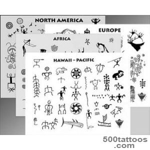 Rock Art Flash_FL03   The Most Ancient Tribal Tattoo Designs_41