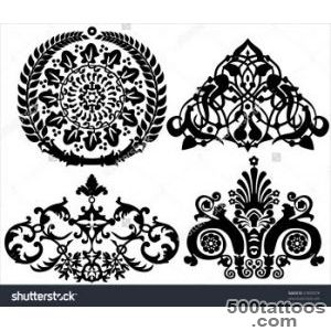 Set Of Ancient Tattoos And Ornaments Stock Photo 31895878 _25