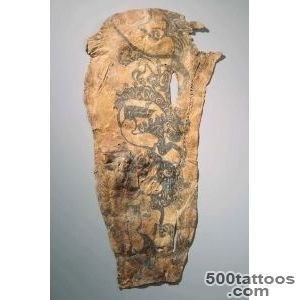 The earliest known examples of tattoos were the Egyptians, having _36