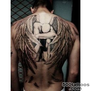 60 Holy Angel Tattoo Designs  Art and Design_3