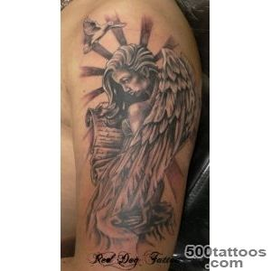 60 Holy Angel Tattoo Designs  Art and Design_22