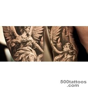 75 Remarkable Angel Tattoos For Men   Ink Ideas With Wings_29