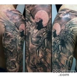 100 Guardian Angel Tattoos For Men   Spiritual Ink Designs_48