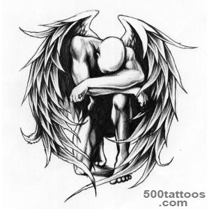 Angel tattoo designs, ideas, meanings, images