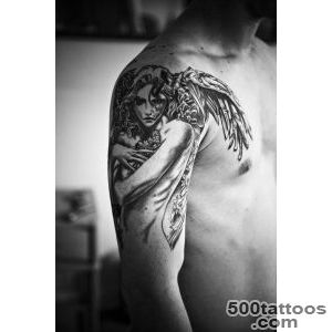 Angel Tattoos for Men   Ideas and Inspiration for guys_41