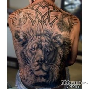50+ Awesome Animal Tattoo Designs  Art and Design_1