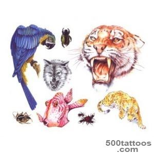 animals tattoo set1 img149 «Animals «Classic tattoo design «Tattoo _34
