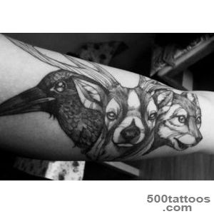 Animals Tattoo Tattoo Trends Animal Instinct_8