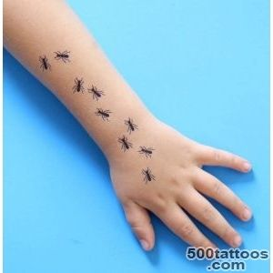 Getting Antsy Creepy, Crawly DIY Tattoos  Fandango_37