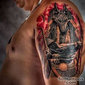 52+ Egyptian God Anubis Tattoos Collection_4