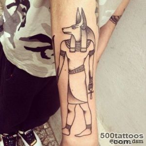 52+ Egyptian God Anubis Tattoos Collection_24