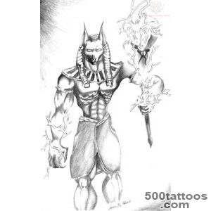 Anubis Tattoo Images amp Designs_43