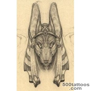 DeviantArt More Like Winged Anubis Tattoo by cheshiresphynx_49