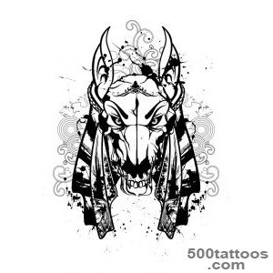 Top God Anubis Tattoo Images for Pinterest Tattoos_44