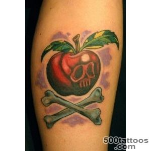 100+ Cool Apple Tattoos_14