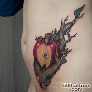 Apple Tattoo Is An Old But Technological Symbol  Best Tattoo _42