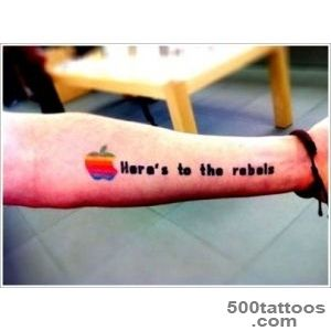 Popular Apple Tattoo Designs_10