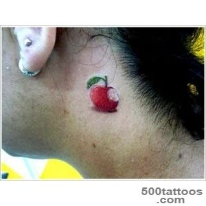 Popular Apple Tattoo Designs_23
