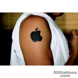 The Mac Daddy Collection Of Apple Logo Tattoos [20 Pics]_13