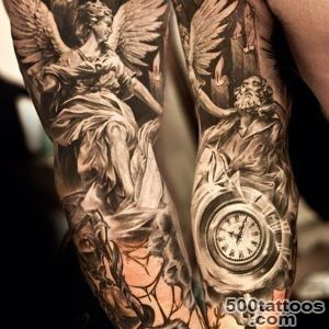 51 Exquisite Angel Designs To Consider For Your Next Tattoo_50