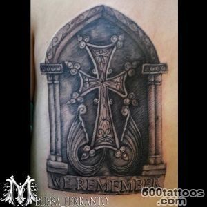 Armenian Cross Tattoo by Melissa Ferranto  Tattoos_11
