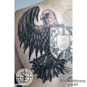 Realistic Armenian Crest Tattoo  Sola Fide Tattoo Society_34