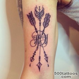 48+ Arrow Tattoos On Arm_47