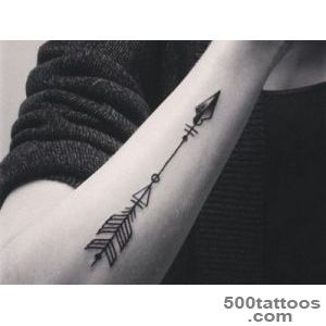 50+ Positive Arrow Tattoo Designs and Meanings   Good Choice_1