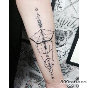 Bow and Arrow Tattoos for Men   Ideas and Designs for Guys_28