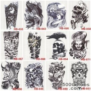 Aliexpresscom  Buy 10Pcs 3D Waterproof Body Arm Leg Art Tattoo _35