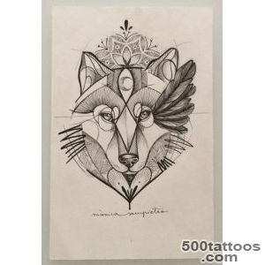 Art Tattoo Loba   Created in BCN_49