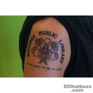 Librarian-gets-tattoo-of-Broome-library-logo---ABC-News-_26jpg