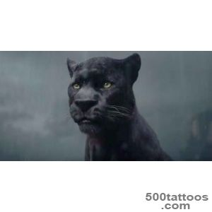 Ben Kingsley is the Voice of Panther, Bagheera, in The Jungle _9