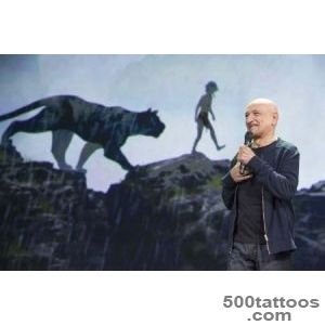 Ben Kingsley is the Voice of Panther, Bagheera, in The Jungle _50