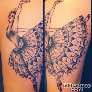 Ballerina Tattoo  Best Tattoo Ideas Gallery_25