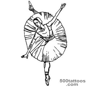 Ballerina Tattoo   Clipartsco_31
