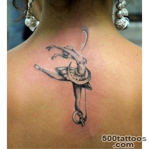 Dancing ballerina tattoo   TattooMagz   Handpicked World#39s _23