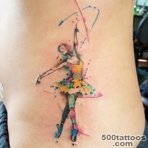 Pin Abstract Ballerina Tattoo Mine Love Dancer Tattoos Pinterest _5