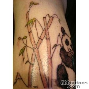 69+ Panda Bamboo Tattoos_48