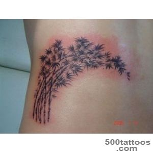 Bamboo Tree Tattoos, Designs And Ideas_47